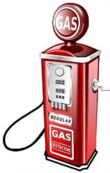 Gas Station Pump Cartoon Free Use