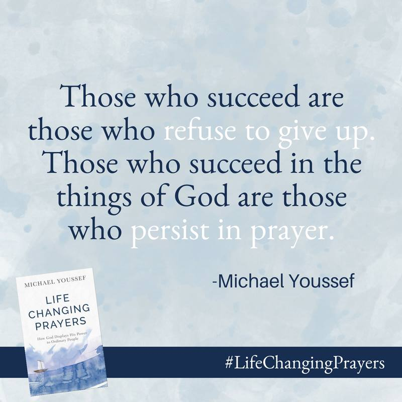 """Life-Changing Prayers"""" by Michael Youssef 