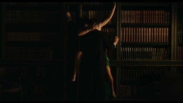 atonement library scene