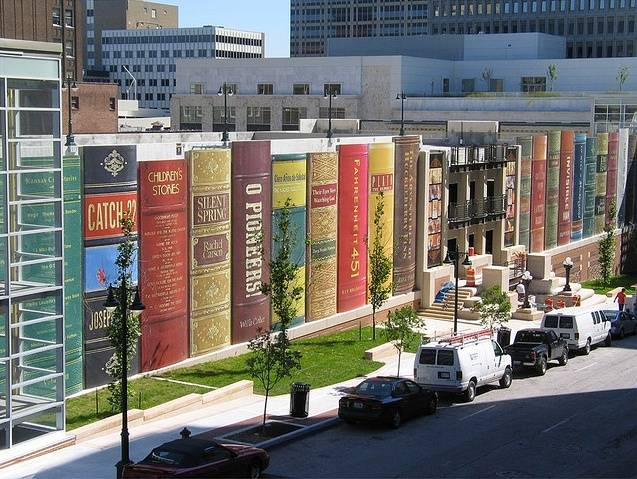 KC library parking garage