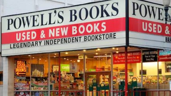 The Happiest Place on Earth: An Afternoon at Powell's Books