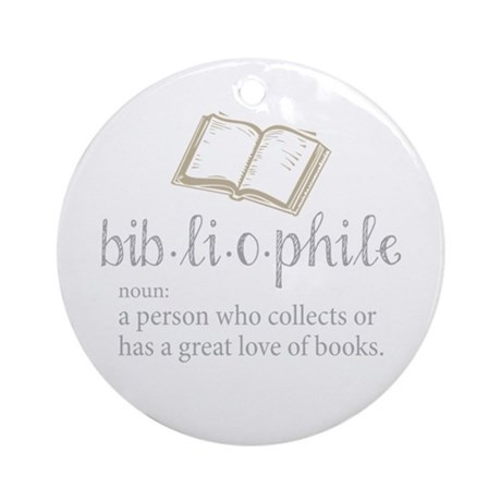 Bookish Ornament - Bibliophile Ornament