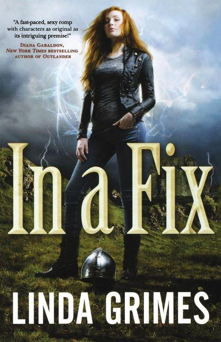 In a Fix by Linda Grimes Cover