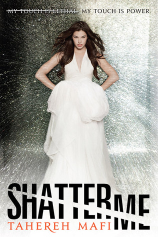 Shatter Me by Tahereh Mafi Cover