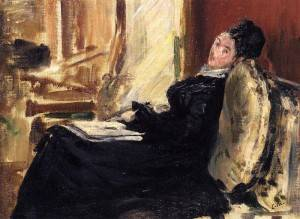 Young Woman with Book