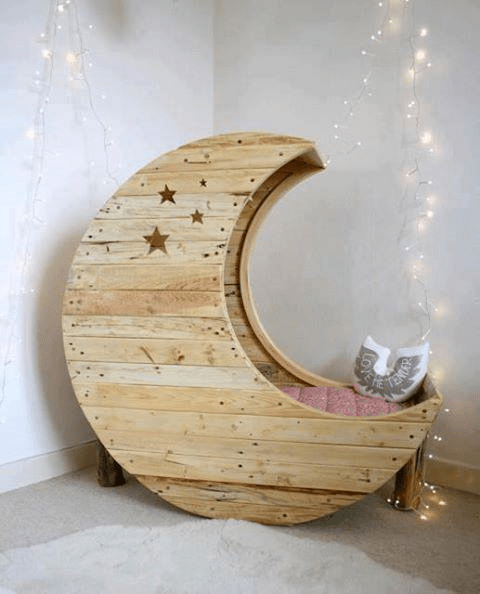 reading nook crib thing