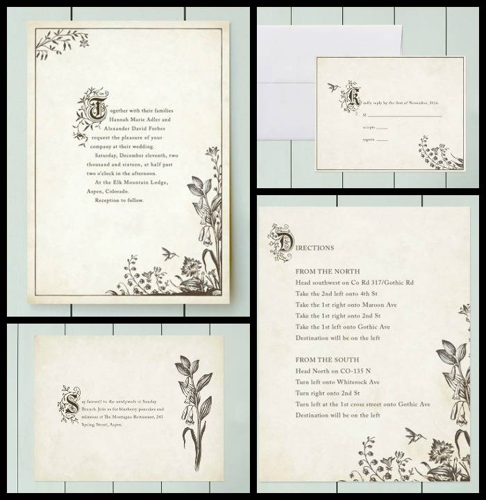 Wedding Invitation Booklets Vertabox