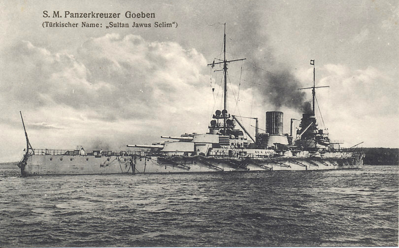 Goeben German cruiser