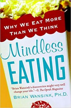 Mindless food eating