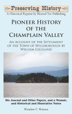 Pioneer History of the Champlain Valley-Front Cover