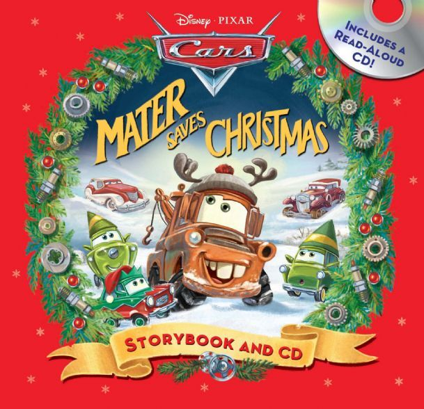 The Christmas Story Book.Mater Saves Christmas Storybook Cd