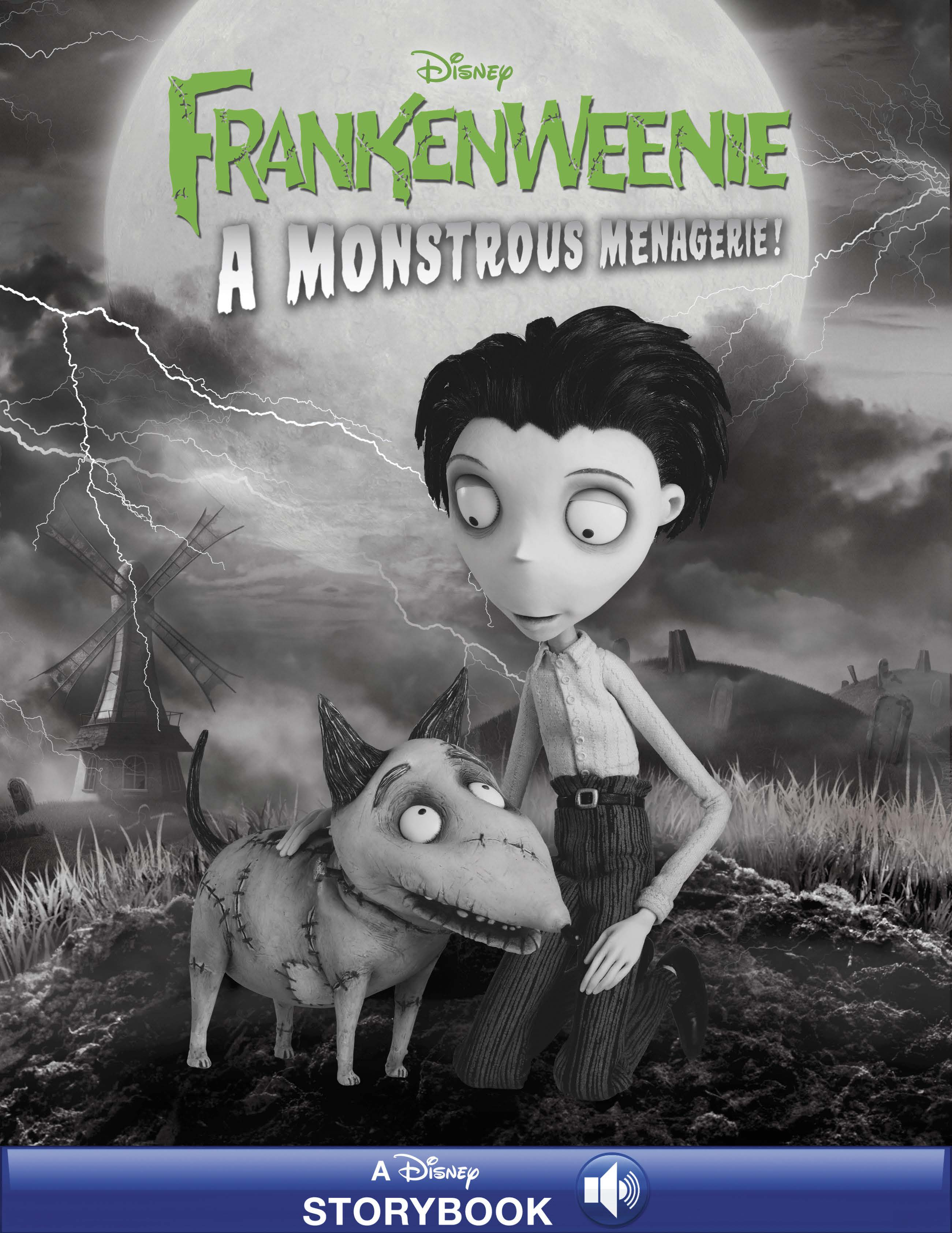 Frankenweenie:  A Monstrous Menagerie!