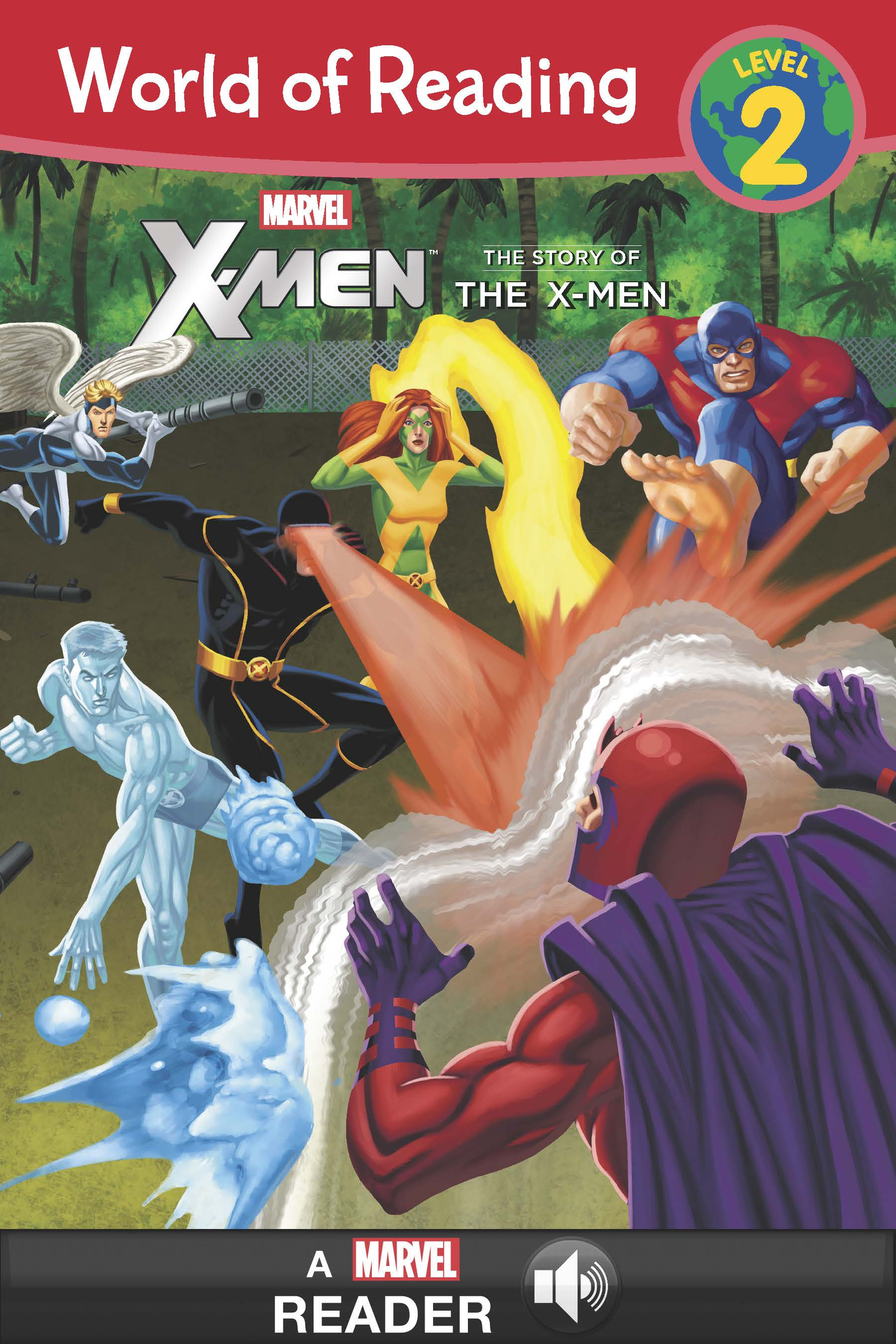 World Of Reading X Men The Story Of The X Men