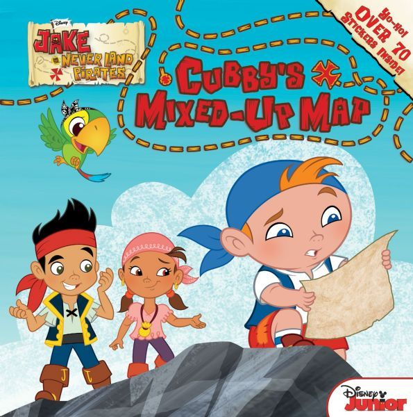 Jake And The Neverland Pirates Cubbys Map Jake and the Ne...