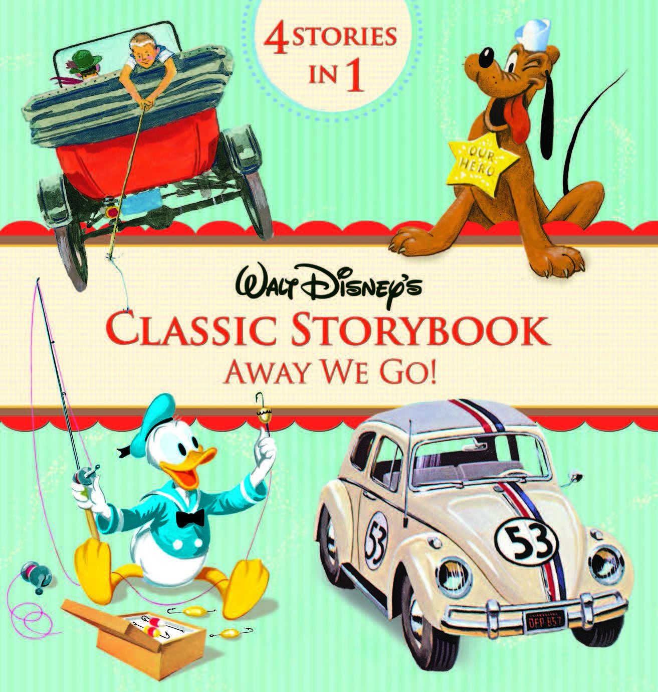 Walt Disney's:  Classic Storybook Collection: Away We Go!