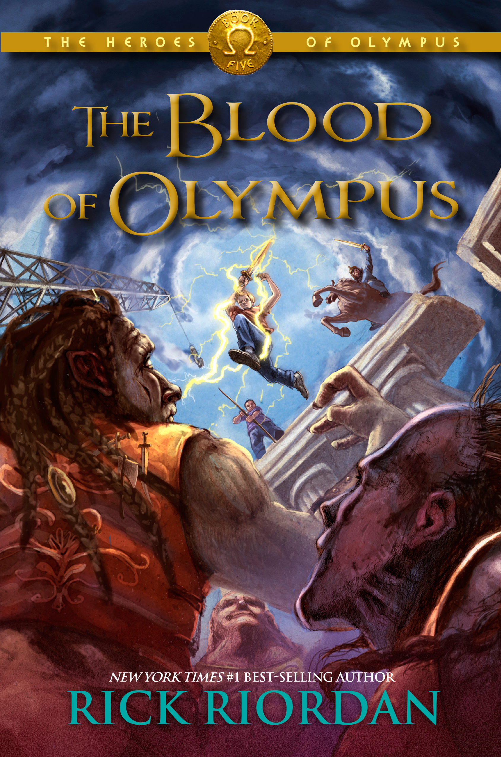 The Blood of Olympus | Disney Books | Disney Publishing Worldwide