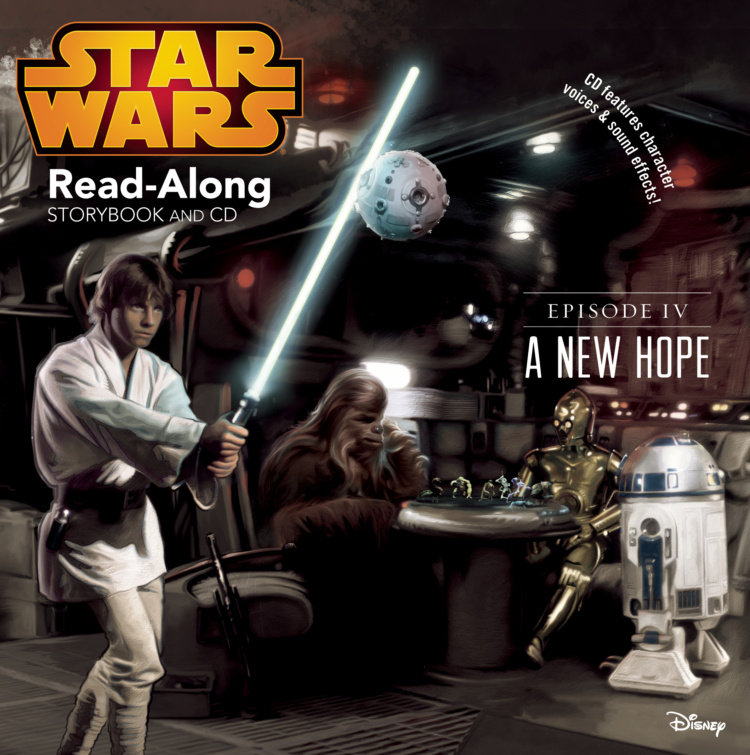 Star Wars A New Hope Read Along Storybook And Cd Disney Books Disney Publishing Worldwide