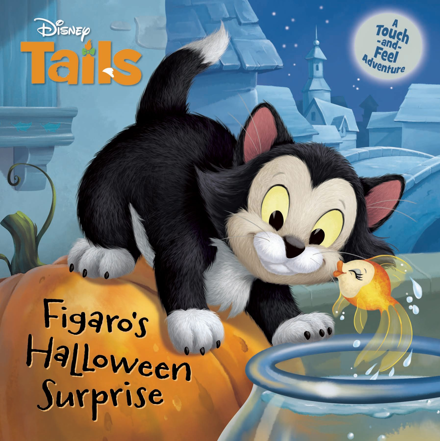 Disney Tails: Figaro's Halloween Surprise