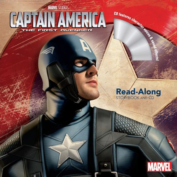 Captain America: The First Avenger Read-Along Storybook and CD
