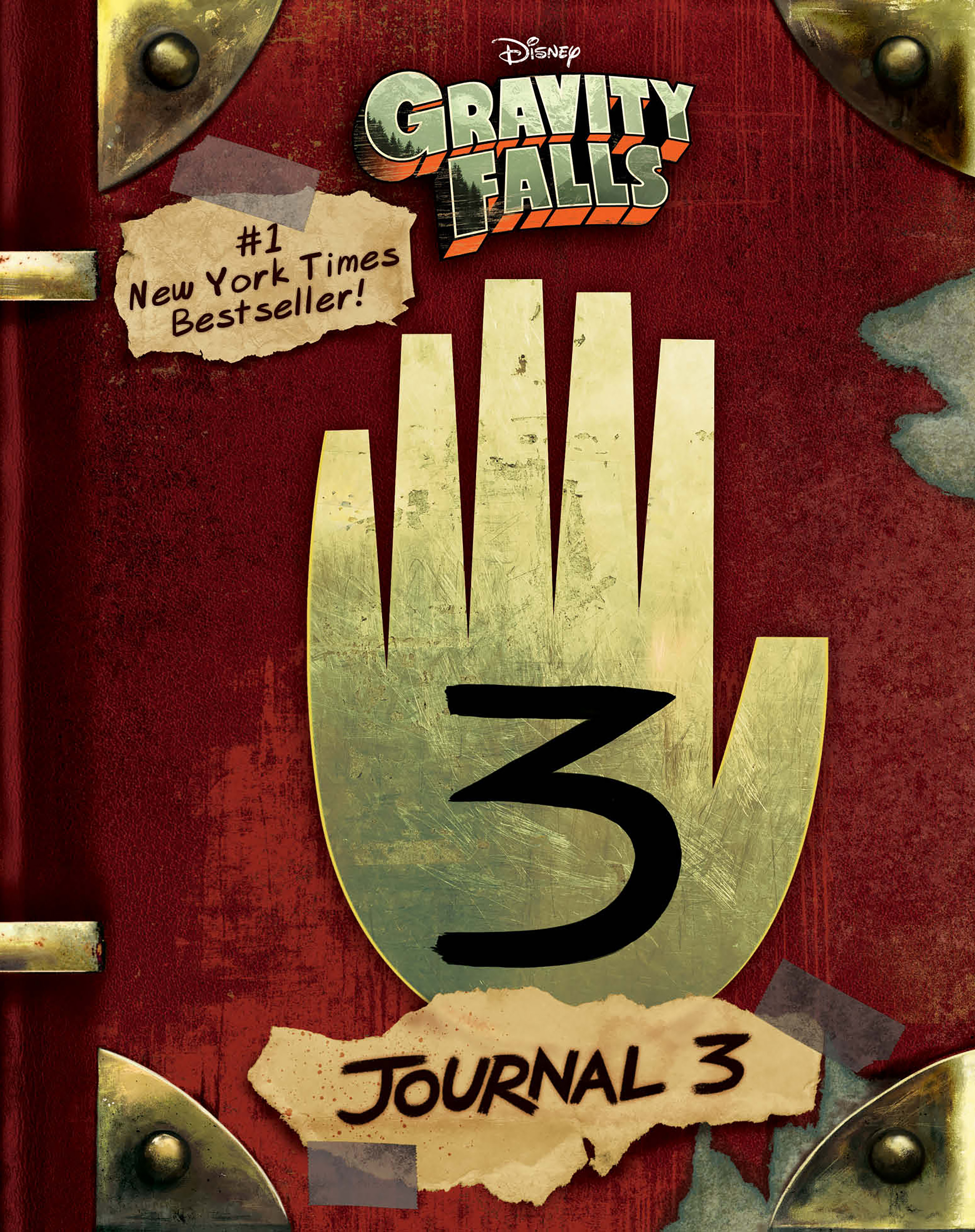 Gravity Falls Journal 3 Disney Books Disney Publishing Worldwide