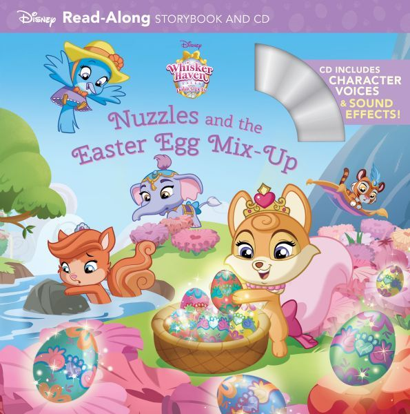 Nuzzles and the Easter Egg Mix-Up: Read-Along Storybook and CD