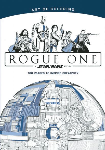 Art Of Coloring Star Wars Rogue One Disney Books