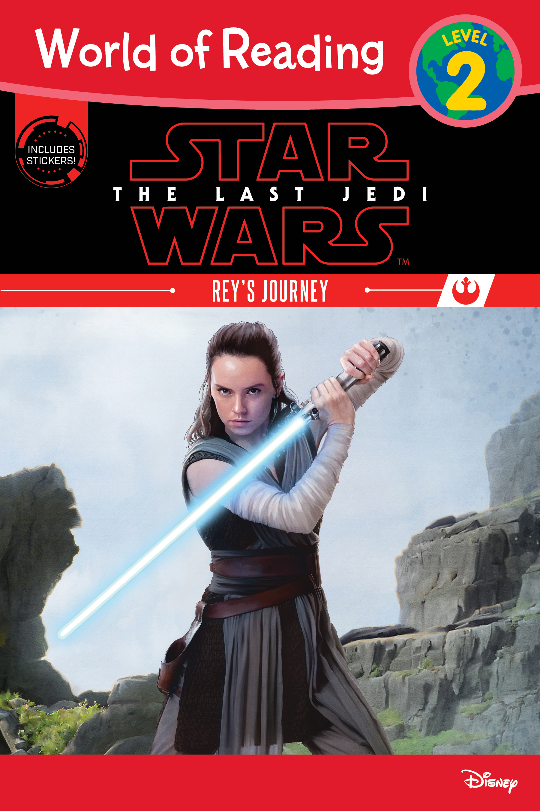 Star Wars The Last Jedi: Rey's Journey