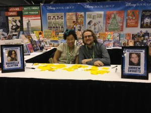 Authors Dhonielle Clayton and Andrew Shvarts