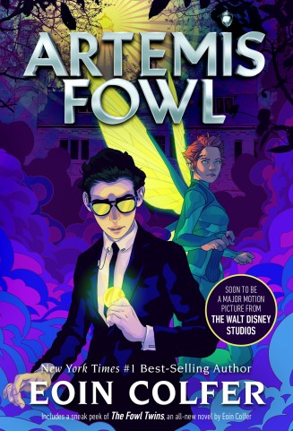Artemis Fowl new cover