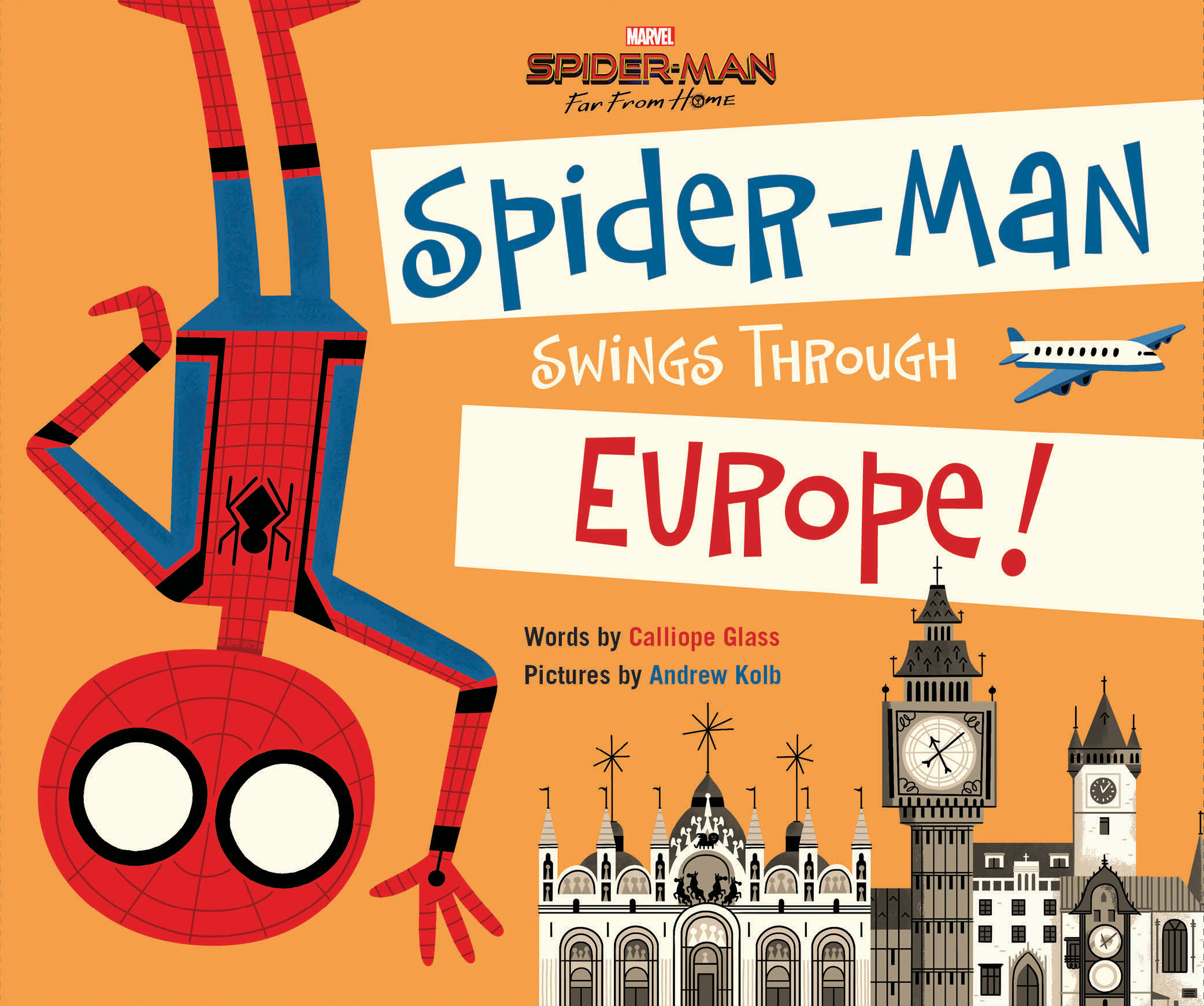 Spider-Man: Far From Home: Spider-Man Swings Through Europe
