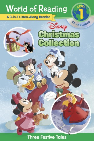 Disney Christmas Collection 3-in-1 Listen-Along Reader