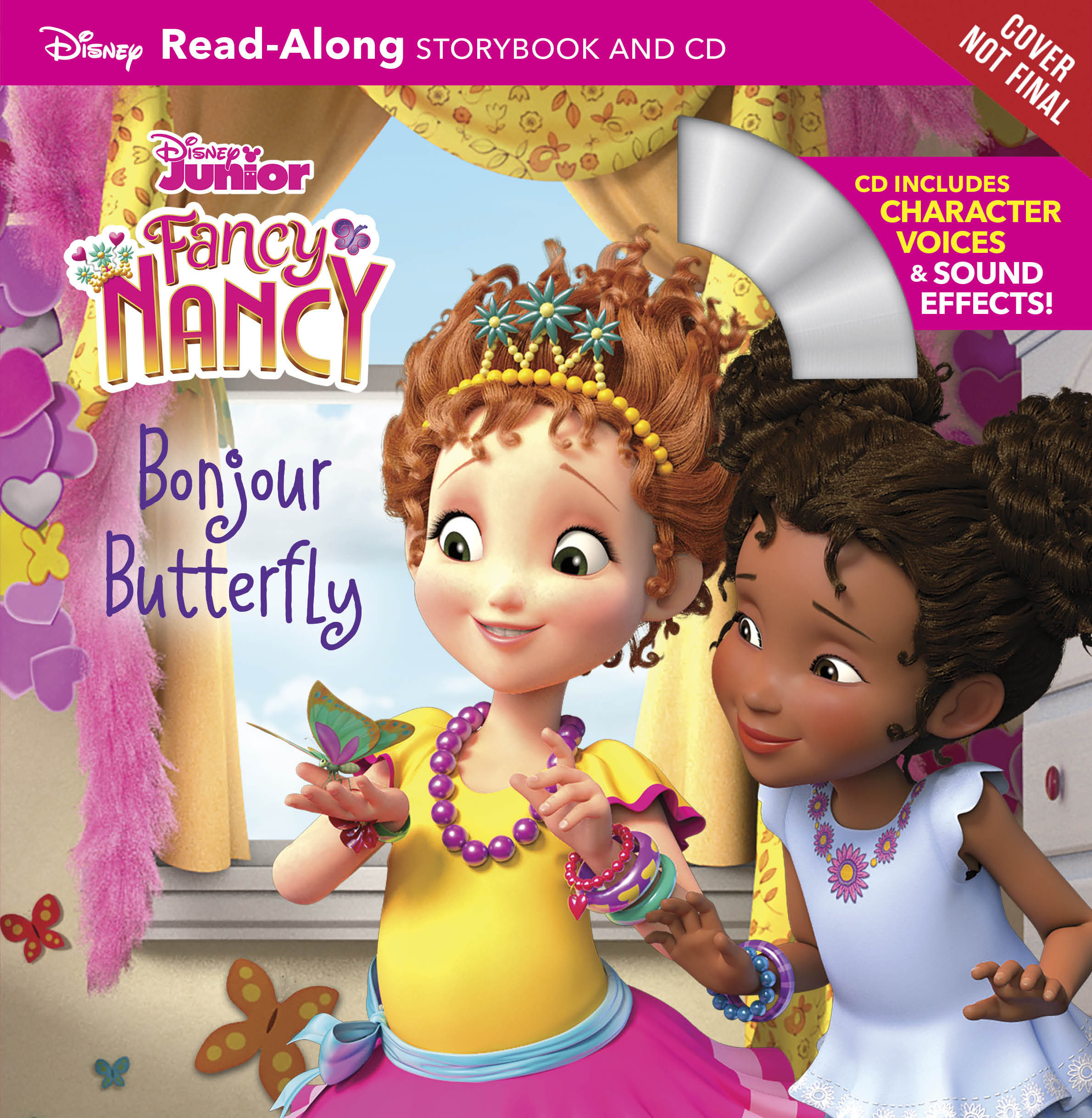Fancy Nancy Read Along Storybook And Cd Bonjour Butterfly Disney Books Disney Publishing Worldwide