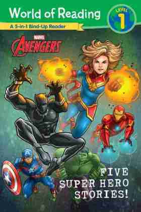 Five Super Hero Adventures