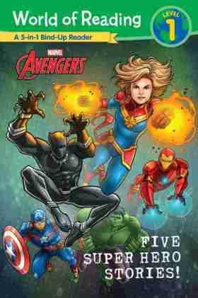 Five Super Hero Adventures