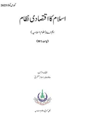 Download AIOU MA Islamic Studies Books Code 2625 Book fi