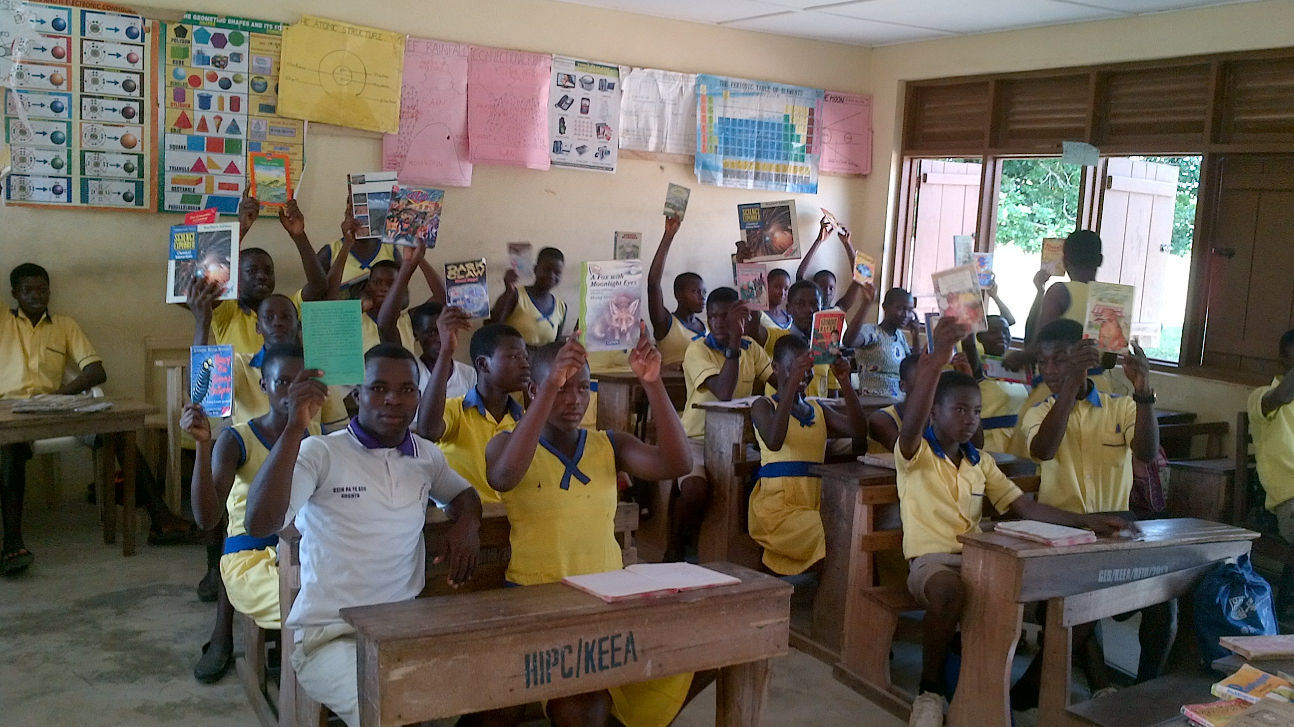 A Reader is a Leader Project, Ghana