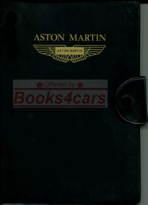 Aston Martin Manuals at Books4Cars