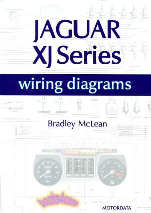 JAGUAR ELECTRICAL WIRING DIAGRAMS XJS XJ6 XJ12 SCHEMATICS BOOK McLEAN V12 | eBay