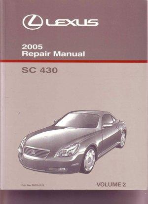 Lexus SC430 Manuals at Books4Cars