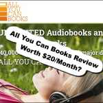 All You Can Books Review – A Book/Audiobook Membership Website