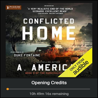 Conflicted Home – Audiobook Review