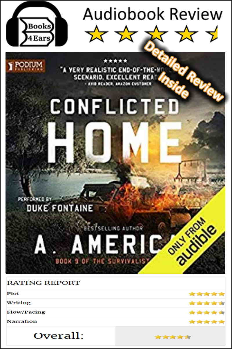 Conflicted Home detailed book review and complete character list via @Books4Ears via @Books4Ears