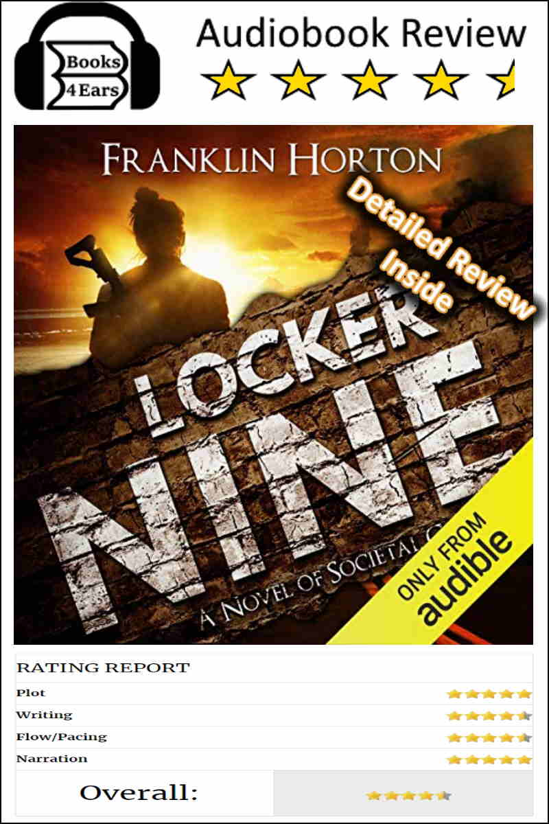 Locker Nine detailed book review and complete character list via @Books4Ears #BookReview #Books4Ears #BookBlog via @Books4Ears