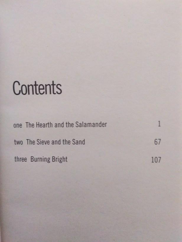 Contents of Fahrenheit 451 by Ray Bradbury