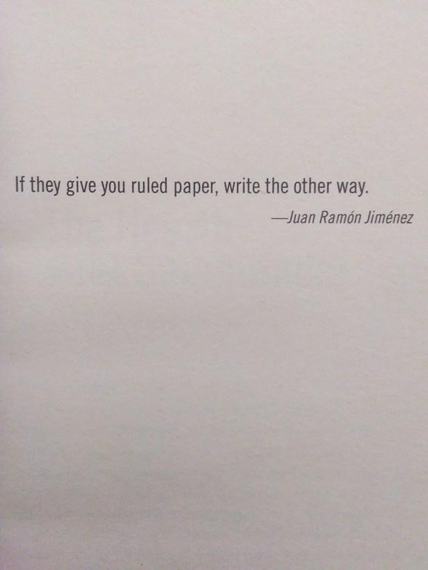 Juan Ramon Jimenez's Quote