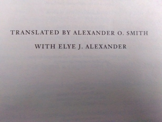 Keigo Higashino's novel in English: Translated by Alexander O. Smith and Elye J. Alexander