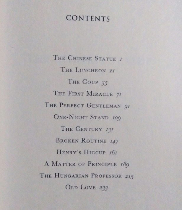 Contents of Jeffrey Archer's A Quiver Full of Arrows
