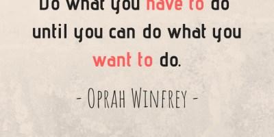 Oprah Winfrey's Quote