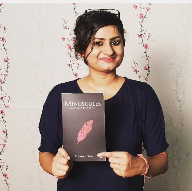 Priyanka Bhatt: Author of Minuscules