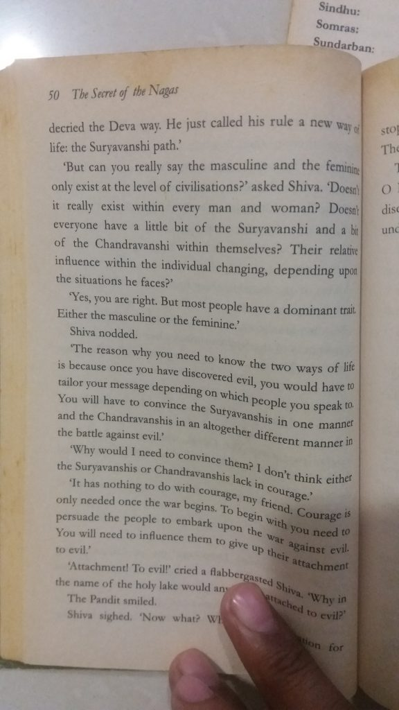 An excerpt from Amish Tripathi's 'The Secret of the Nagas'
